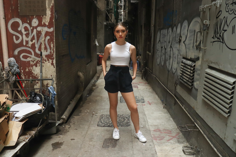 Orgasmic Universe 2019 Summer Road Hot Shorts Women Elastic Waist Short